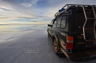 車とウユニの写真・画像素材[1286288]