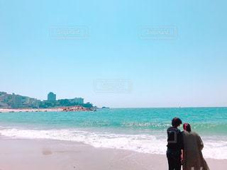 初めての白良浜♪の写真・画像素材[1328026]