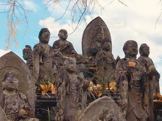 秋の大窪寺の写真・画像素材[1633768]