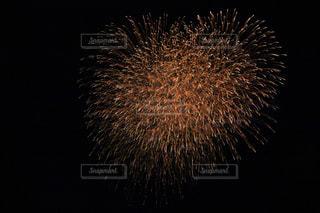 空に花火の写真・画像素材[1303049]