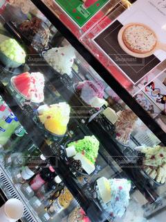 ケーキのようなかき氷の写真・画像素材[1284161]
