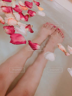 バラ風呂🌹の写真・画像素材[1288346]