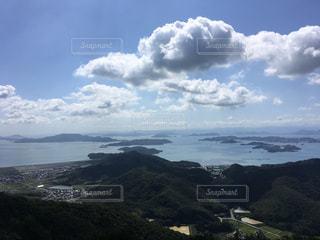 金甲山からの瀬戸内の風景の写真・画像素材[1287360]