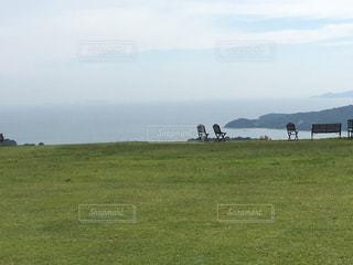 牛窓オリーブ園から瀬戸内海。の写真・画像素材[1287361]
