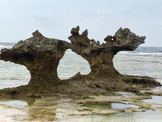 ハート岩の写真・画像素材[1284524]