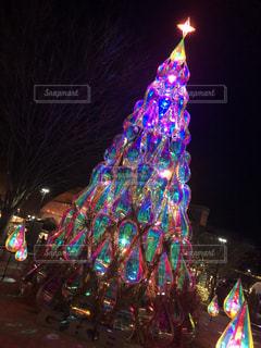 光のツリーの写真・画像素材[944805]