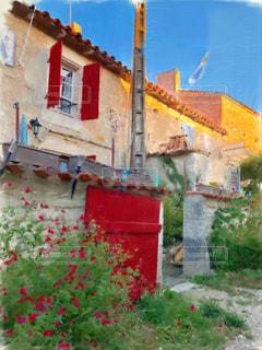 フランスのプチホテルの写真・画像素材[1723222]