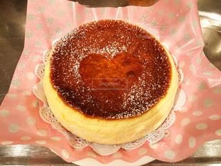 手作りチーズケーキの写真・画像素材[1287199]