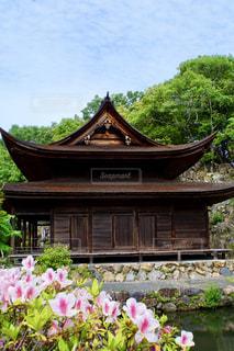 虎渓山永保寺の春の写真・画像素材[2301204]