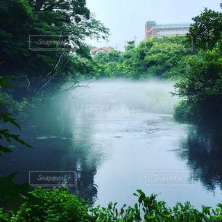 幻想的な風景が町のど真ん中での写真・画像素材[1326923]