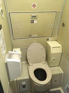 500系新幹線のトイレの写真・画像素材[1290795]