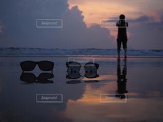 沈むの写真・画像素材[1289238]