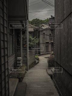 寂れた町の写真・画像素材[1386906]