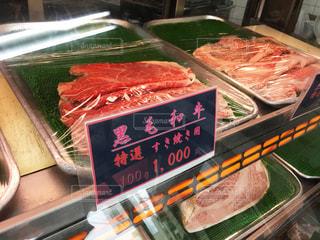 黒毛和牛・特選すき焼き肉の写真・画像素材[1833786]
