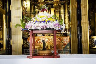花まつりの花御堂の写真・画像素材[1852801]
