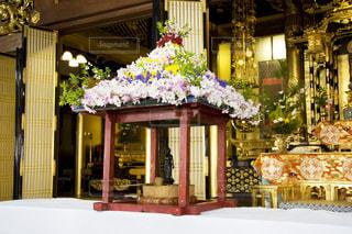 花まつりの花御堂の写真・画像素材[1852803]