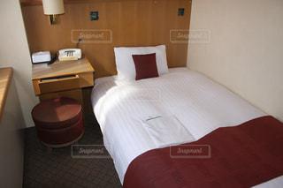ホテル客室シングルの写真・画像素材[1853863]
