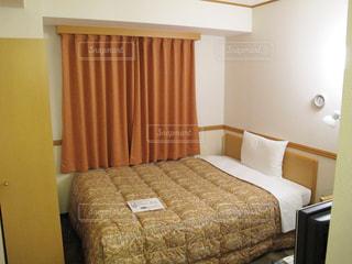 ホテル客室シングルの写真・画像素材[1853873]