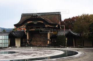 東本願寺菊門・内側の写真・画像素材[1861116]