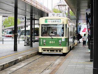 広島電鉄800形電車の写真・画像素材[1863176]