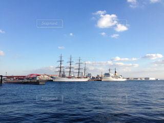 神戸港の帆船の写真・画像素材[1863473]
