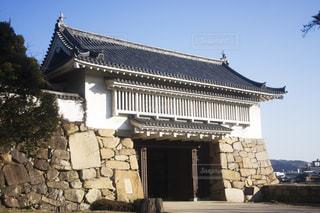 岡山城櫓門の写真・画像素材[1874864]