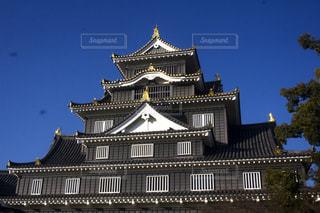 岡山城天守閣の写真・画像素材[1874865]