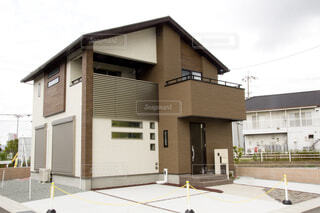 新築一戸建て住宅の写真・画像素材[3656671]