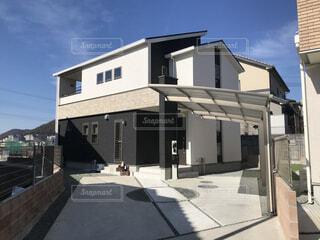 新築一戸建て住宅の写真・画像素材[3660787]