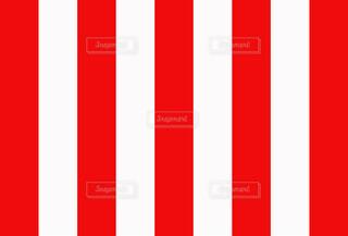 紅白幕の写真・画像素材[3672801]