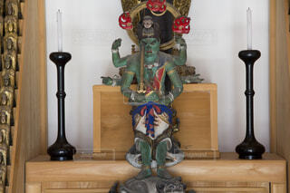 花岳寺報恩堂青面金剛像の写真・画像素材[3673553]