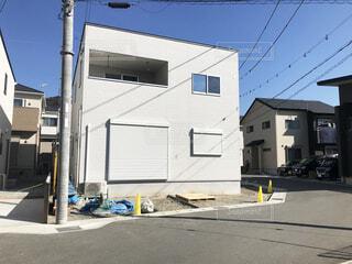 新築一戸建て住宅の写真・画像素材[3693210]