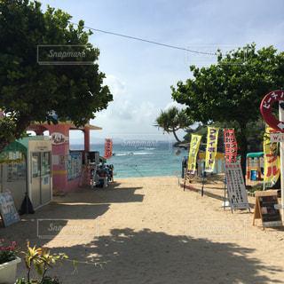 伊計島のビーチ 入り口の写真・画像素材[1289700]