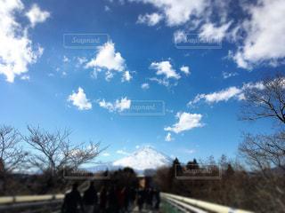 富士山が見える景色の写真・画像素材[1290025]