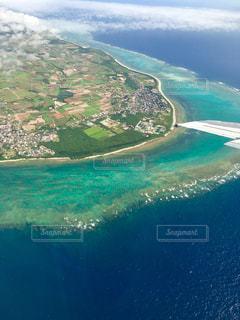 上空から見た沖縄の写真・画像素材[1290239]