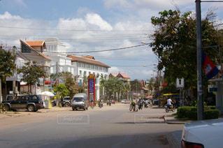 カンボジアの街並みの写真・画像素材[1292890]