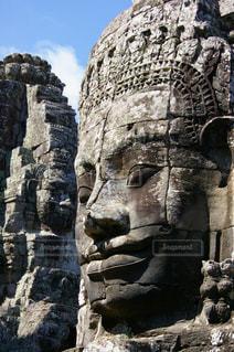 アンコールワットの石像の写真・画像素材[1292919]