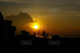 海外の夕焼けの写真・画像素材[1292930]