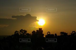 海外の夕焼けの写真・画像素材[1292931]