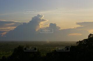 海外の夕焼けの写真・画像素材[1292933]
