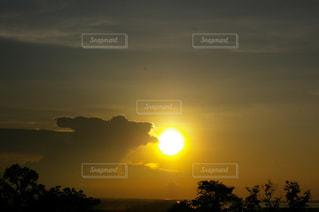 海外の夕焼け空の写真・画像素材[1292934]