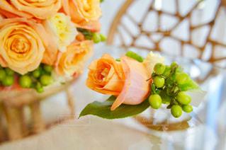 ウェディングブーケと花の写真・画像素材[1302916]