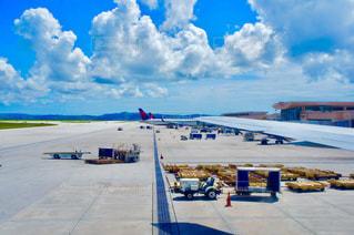 グアムの空港の風景の写真・画像素材[1302936]