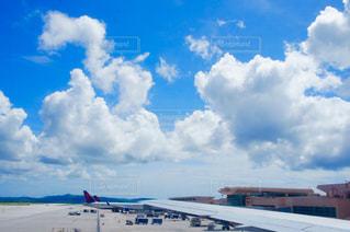 グアムの空港の風景の写真・画像素材[1302937]