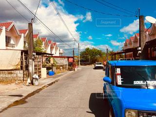 フィリピンの住宅街の写真・画像素材[1397277]