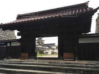 富山城の写真・画像素材[1294866]