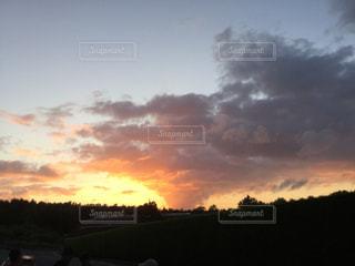 夕焼けの写真・画像素材[1760473]