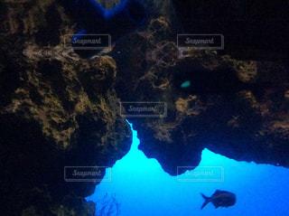 洞窟ダイビングの写真・画像素材[2178836]