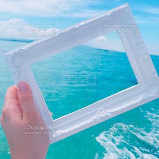 切り取れない海の写真・画像素材[1291450]