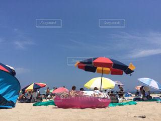 白浜のビーチの写真・画像素材[1294314]
